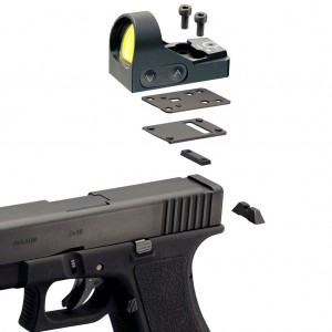 Montaż MiniDot HD do Glock 10 mm